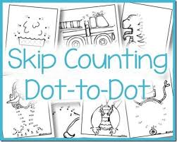 Count By 5 Worksheets Printable Free Skip Counting Dot To Dot 2s 3s 5s And 10s Worksheets