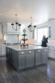 Gray Stained Kitchen Cabinets Kitchen Grey Cabinet Paint Gray Stained Cabinets Dark Grey