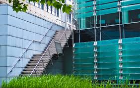 Modern Design Staircase Free Images Fence Architecture Glass Building City Urban