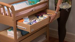 Changing Table Baby by Care How To Organize A Changing Table 01 120601 Cloudmom