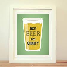 my beer crafty beer print beer art craft beer home decor ipa