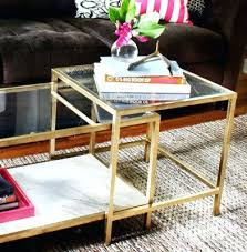 gold side table ikea ikea lack coffee table hack ubound co