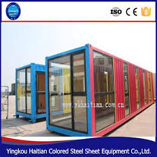modular glass house steel and gl home decor prefab kit complete