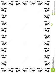 halloween bat border royalty free stock photos image 4851218