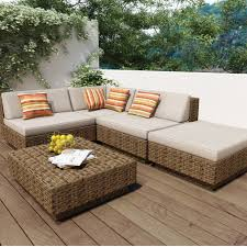Patio Sectional Enchanting L Shaped Outdoor Sectional Pallet Patio Sectional Sofa