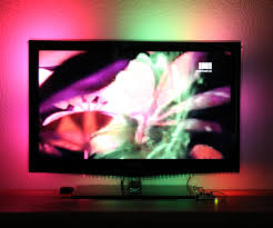 ambient light behind tv keiang s electronics hobby side hardware based tv ambient light