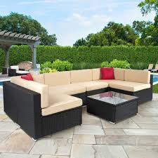 Patio Dining Sets Toronto - furniture bella all weather wicker patio dining set seats patio