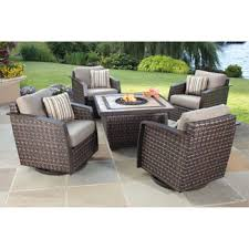 5 piece patio table and chairs santa ana 5 pc fire chat set ance pinterest pc santa and costco