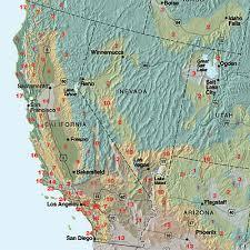 Gardening Zones Usa Map - sunset climate zones california nevada sunset