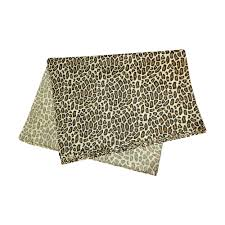leopard print tissue paper 20 pc 20 x 30 safari big cat leopard print tissue paper gift