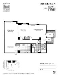 floor plans of hudson square south apartments in hoboken nj