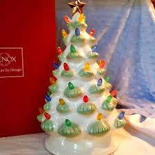 lenox treasured traditions led lighted tree centerpiece new in box
