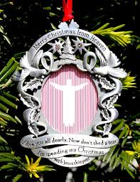 merry christmas from heaven merry christmas from heaven photo ornament