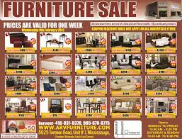 Discount Furniture Kitchener by Arv Furniture Flyers 2012 Weekly Flyer Arv Furniture Mississauga