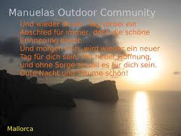 gute nacht sprüche gute nacht spruch manuelas outdoor community