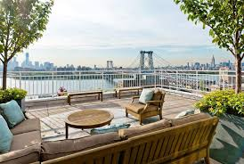 roof terrace brooklyn penthouse with panoramic views