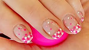 french manicure nail designs french manicure with dots nail art