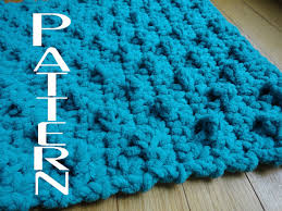 Teal Bathroom Rugs Crochet Pattern Bumpy Bath Mat Bathroom Rug Diy