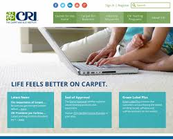 The Carpet Market The Carpet And Rug Institute Launches New Website Cleanfax