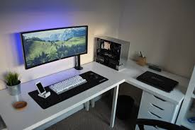 my minimalist ultrawide setup minimalist desks and gaming setup