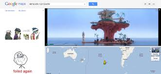 Australia Google Maps Google Maps At Point Nemo The Point In The Ocean Most Distant