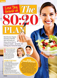 pressreader woman u0027s day australia 2016 10 24 the 80 20 plan
