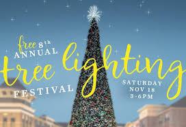 8th annual tree lighting festival at leesburg