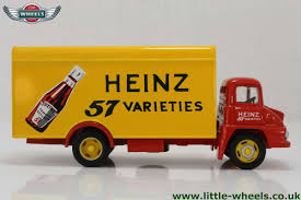 golden trucks corgi trucks 19303 ford thames trade heinz 57 varieties box van