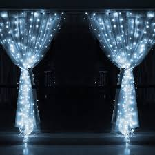 9 8ftx9 8ft 300 led x mas wedding party string fairy curtain