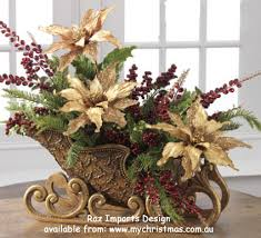 sleighs as table pieces my floral