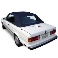 bmw 3 series 1987 1993 convertible soft top blue twillfast
