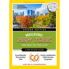 Walking Map Of New York City by Walking New York 2nd Edition National Geographic Store