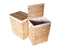 3 Section Laundry Hamper by Cheerful Lid Collapsible Laundry Basket Dirty Clos Hamper Storage
