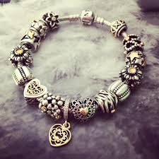 pandora bracelet styles images Bring luxurious two tone charms to life with creative jpg