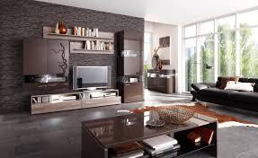 wohnzimmer dekoration braun haus design ideen