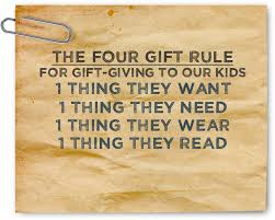 kid lists gifts and for