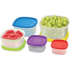 Jysk Storage Ottoman Cucina Vita Square Food Storage Set 20 Pcs Plastic Storage