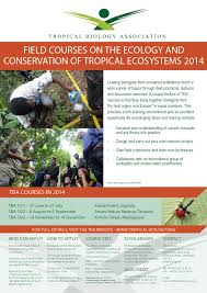 Tropical Plant Biology - tropical biology association summer field courses tropical