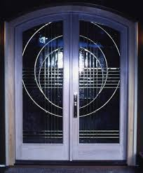 Clear Glass Entry Doors by Beveledglass