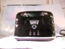 Delonghi Icona 4 Slice Toaster Black Delonghi Brillante Toaster Ebay