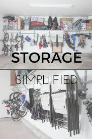 63 best garage cabinets images on pinterest garage cabinets simplified garage storage because no one wants to spend more time organizing the garage than
