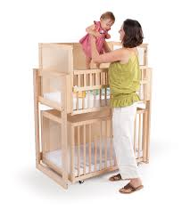 space saver two level crib whitney bros