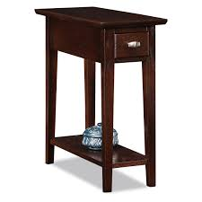 Cherry Side Tables For Living Room Enthralling Small Rectangular Side Table Cherry Wood End Tables