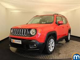 jeep cars red used jeep for sale second hand u0026 nearly new cars motorpoint car