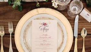 wedding plate settings 30 lovely table setting ideas for your wedding weddmagz