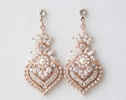 wedding earrings drop bridal earrings etsy