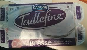 8 Pots by Taillefine Le Brassé 0 Mg 8 Pots Danone 1 Kg 8 X 125 G