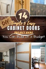 diy simple kitchen cabinet doors 14 easy diy cabinet doors you can build on a budget