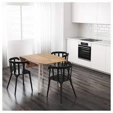 IKEA PS  Dropleaf Table Bamboowhite X Cm IKEA - Drop leaf kitchen table ikea
