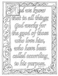 coloring pages for kids by mr adron printable romans 8 28